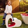 Chaise design & lumineuse AGATHA, H52cm VONDOM