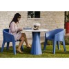 Chaise design & lumineuse FROZEN, H77cm PLUST COLLECTION