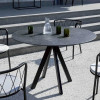 Table design & lumineuse - Table haute DÉSIRÉE, H75cm VERMOBIL