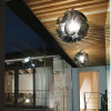 Luminaires salon design FLORAL, Chrome PANZERI