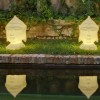 Eclairage exterieur piscine GOA, H70cm NEW GARDEN