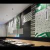 Luminaires salon design HARDY, H30.5cm BOVER