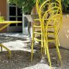 Chaise design & lumineuse MIMMO, H88.5cm VERMOBIL