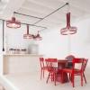 Luminaires salon design NEW SPIDER, H35cm UTU SOULFUL LIGHTING