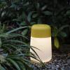Luminaires de luxe extérieur KOHO Jaune, H28cm FONTANA ARTE