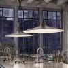 Luminaires salon design SASSMAOR, aluminium Aldo BERNARDI