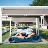 Transats design jardin & piscine SLICE, H52cm LYXO