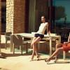Chaise design & lumineuse FRAME, H80cm VONDOM