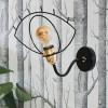 Luminaires entrée CLIN D'OEIL Noir, H25.2cm LUZ EVA