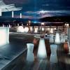 Tabouret design & lumineux - Tabouret de bar DOT, H75cm LYXO DESIGN