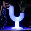 Pots lumineux design PEACOCK, H150cm VONDOM