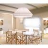 Luminaires salon design MEI 150, H70cm BOVER