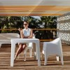 Table design & lumineuse - Table haute SOLID, H45cm VONDOM