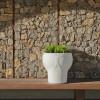 Table design & lumineuse - Table haute MELVIN, H54.5cm NEW GARDEN