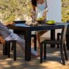 Table design & lumineuse - Table haute JUT, H75cm VONDOM