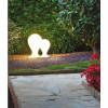 Bornes jardin extérieures ONA Blanc MILAN ILUMINACION