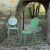Chaise design & lumineuse PARIS, H93cm  VERMOBIL