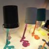 Luminaires entrée OUPS L, H65cm NATHALIE BE