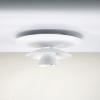 Luminaires entrée PICASSO Blanc, H15.8cm BELID