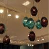 Luminaires entrée PRISMA 7, H200cm CONCEPT VERRE