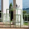 Table design & lumineuse - Table haute SEASIDE, H110cm VERMOBIL