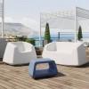 Mobilier de jardin design & lumineux SUGAR, H46cm LYXO