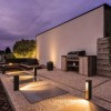 Bornes jardin extérieures SLOTBOX, anthracite SLV