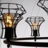 Luminaires entrée QUEEN CAGE, H125cm ZAVA Luce