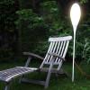 Luminaires de luxe extérieur SPILLO Blanc, H150cm KUNDALINI