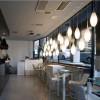 Luminaires de luxe extérieur SPILLO Blanc, H67cm KUNDALINI