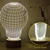 Luminaires chambre design BULB Bois naturel, H23cm STUDIO CHEHA