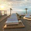 Salons de jardin design VELA CARRE INCLINABLE, H40cm VONDOM