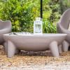 Table basse design & lumineuse MARTINICA, H35cm NEW GARDEN