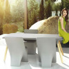 Table design & lumineuse - Table haute SLOO VONDOM