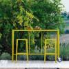 Table design & lumineuse - Table haute SKYLINE, H110cm VERMOBIL
