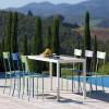 Table design & lumineuse - Table haute QUATRIS, H75cm VERMOBIL