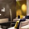 Luminaires chambre design ZIG Satin nickel, H200cm TERZANI