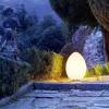 Luminaires de luxe extérieur UOVO Blanc, H62cm FONTANA ARTE
