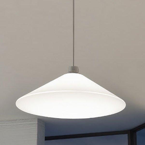 Luminaires salon design RIMBO Blanc, O40cm MILAN ILUMINACION