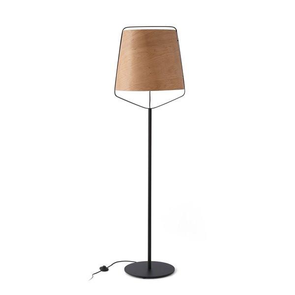 Luminaires chambre design STOOD Bois, H182cm FARO