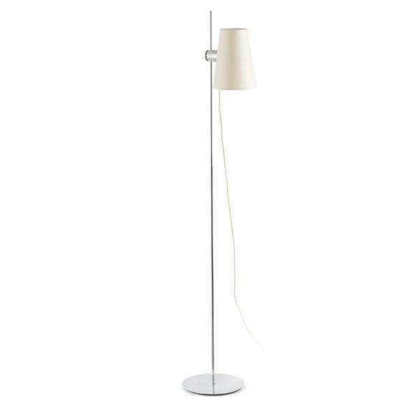 Luminaires chambre design LUPE Chrome, H150cm FARO