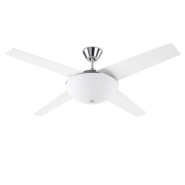 Ventilateurs plafond design AUKENA Blanc, H44cm LEDS-C4