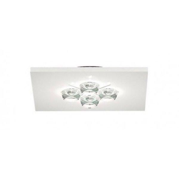 Luminaires entrée POLIFEMO Blanc, H3.8cm MILAN ILUMINACION
