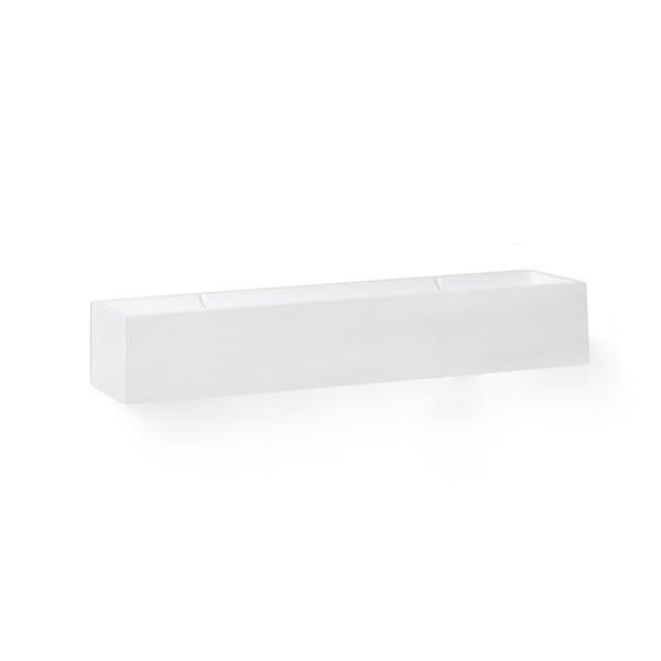 Luminaires salon design TERA Blanc, H7,5cm FARO