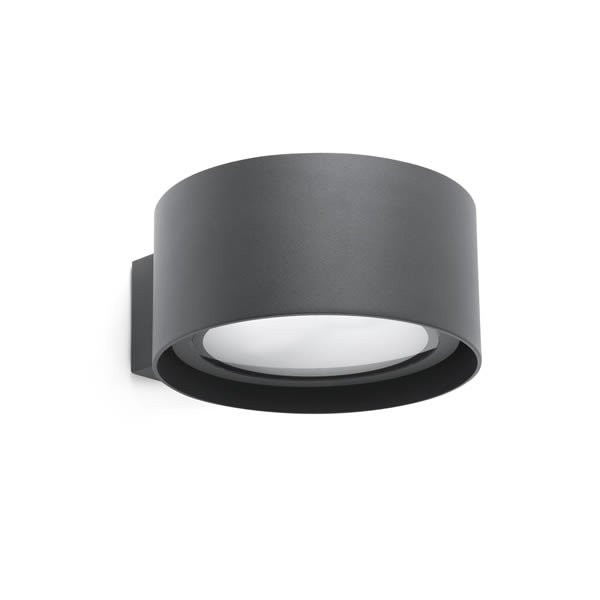 Luminaires de piscine design QUART LED Anthracite, H17cm FARO
