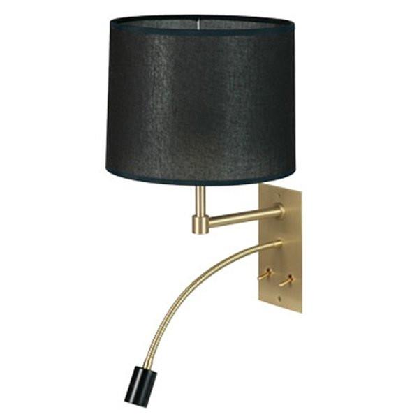 Luminaires chambre design LYNCIA Noir, H39cm BROSSIER SADERNE