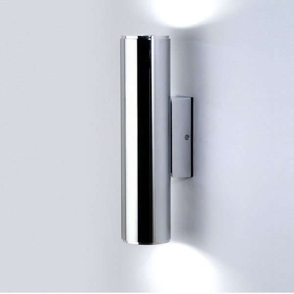 Luminaires entrée KRONN MAXI Chrome, H41cm MILAN ILUMINACION