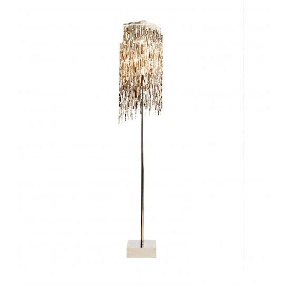 Luminaires chambre design ARTHUR Nickel, H190cm BRAND VAN EGMOND