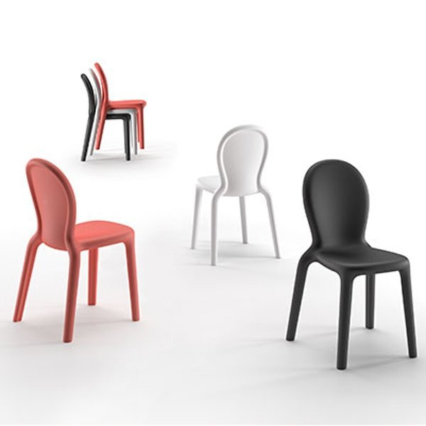 Chaises  CHLOE, H87cm PLUST COLLECTION