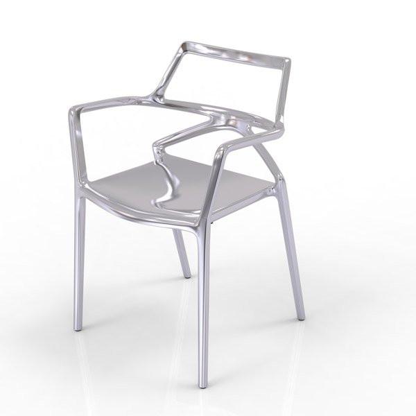 Chaises  DELTA, H80cm VONDOM